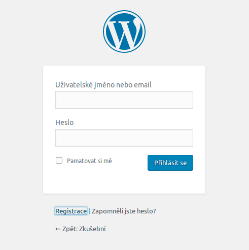 wordpress-registrace-uzivatelu