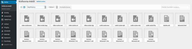 wordpress-knihovna-medii-zobrazeni-mrizka