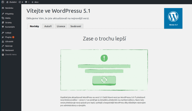 wordpress-administrace-dokonceni-aktualizace