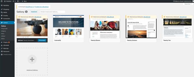 wordpress-administrace-dostupně-aktualizace-sablon-ze-stranky-prehled-sablon