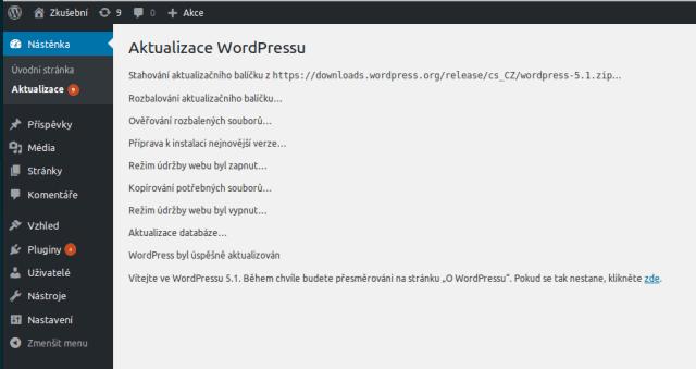 wordpress-administrace-pruheh-velke-aktualizace
