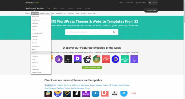 wordpress-premium-sablony-themeforest-kategorie