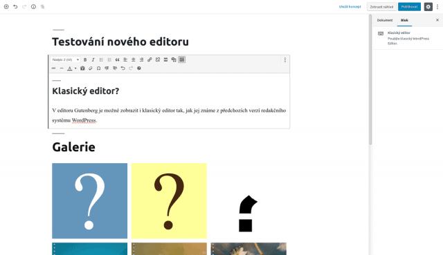 wordpress_prispevek_blokovy_editor_gutenberg_blok_klasicky_editor