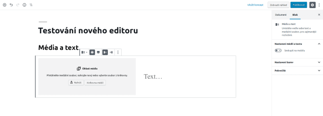 wordpress_gutenberg_editor_blok_media_a_text_uvod
