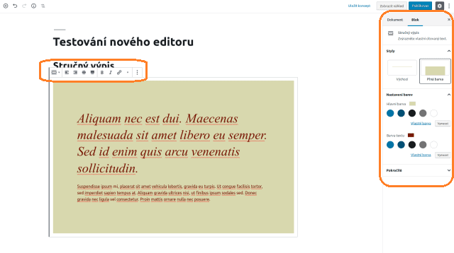wordpress_gutenberg_editor_blok_strucny_vypis