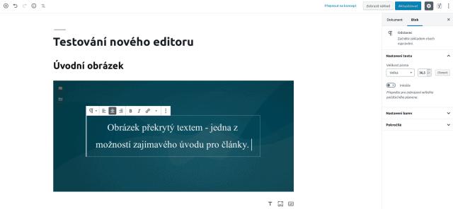wordpress_gutenberg_editor_blok_uvodni obrazek