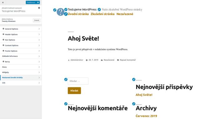 wordpress-twenty-nineteen-nastaveni-uvod2