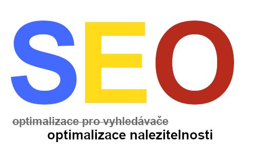 SEO - optimalizace pro vyhledávače, optimalizace nalezitelnosti